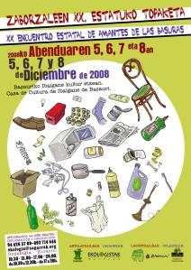 cartel-xx-encuentro-amantes-de-las-basuras-2008